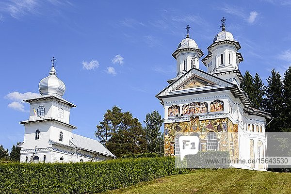 Orthodoxe Kirche  Kirche der Heiligen Apostel Petrus und Paulus  Panaci  Region Bukowina  Rumänien  Europa
