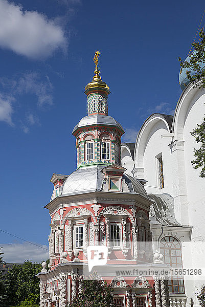 Chapel Over-the-Well  The Holy Trinity St. Sergius Lavra  UNESCO Site  Sergiev Posad  Golden Ring  Moscow Oblast  Russia