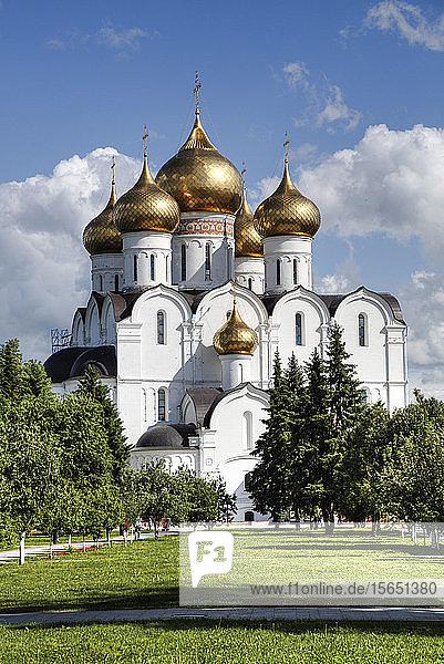 Assumption Cathedral  UNESCO World Heritage Site  Yaroslavl  Yaroslavl Oblast  Russia