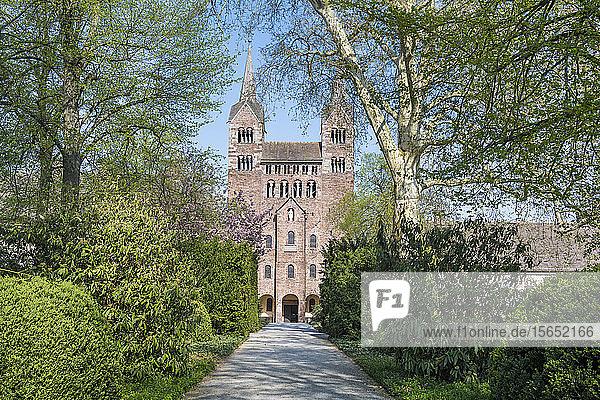 Westwork  Princely Abbey of Corvey  Germany