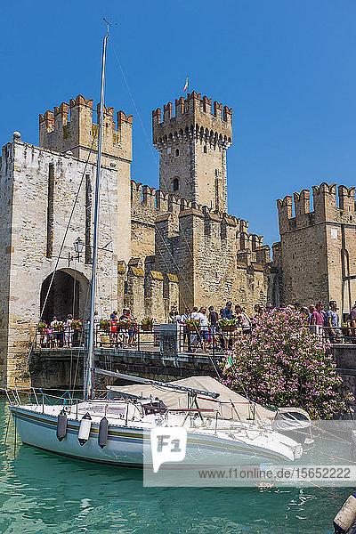 Castello Scaligero  Sirmione  Lake Garda  Italy