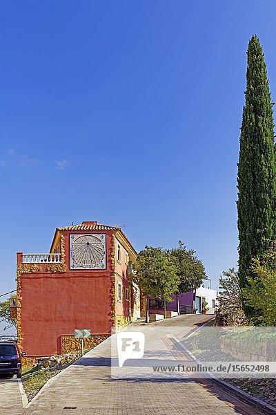 Sundial  Onda  Province of Castillón  Spain  Europe