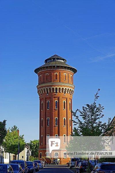Water tower  Speyer  Rhineland-Palatinate  Germany  Europe