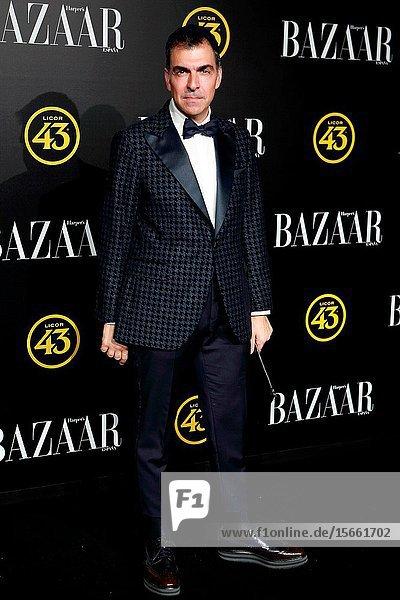 The chef Ramon Freixa attend the Harper's Bazaar awards in Palacio de Santoña  Madrid (Spain).November 5  2019..