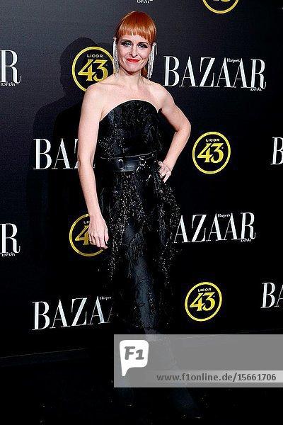 Ana Locking attend the Harper's Bazaar awards in Palacio de Santoña  Madrid (Spain).November 5  2019..