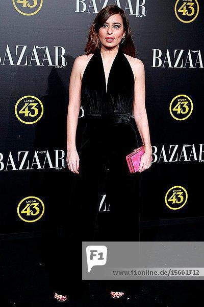 Actress Aurora Carbonell attend the Harper's Bazaar awards in Palacio de Santoña  Madrid (Spain).November 5  2019