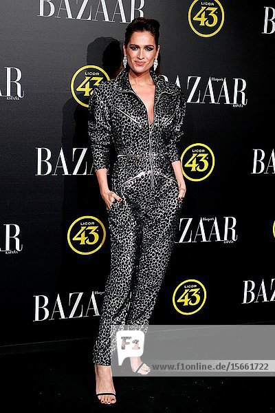 Mar Saura attend the Harper's Bazaar awards in Palacio de Santoña  Madrid (Spain).November 5  2019