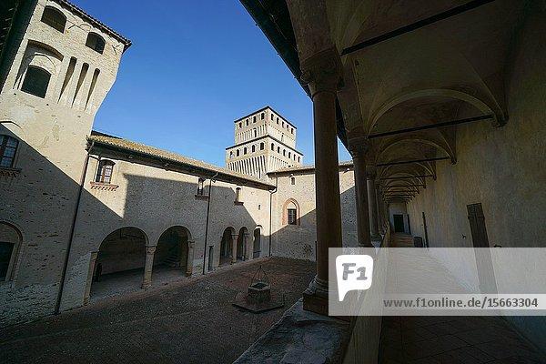 Torrechiara Castle  Langhirano  Parma  Italy  Europe