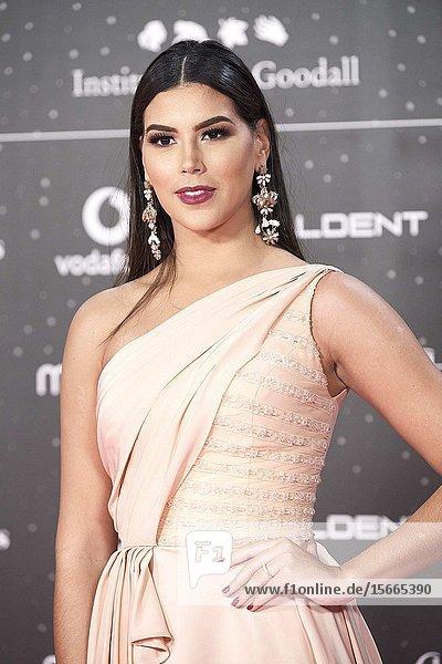 Sofia del Prado attends Los 40 Music Awards at Wizink Center on November 8  2019 in Madrid  Spain