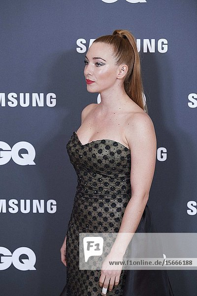 Natalia Rodriguez attends GQ Men of the Year Awards 2019 at Palace Hotel on November 21  2019 in Madrid  Spain