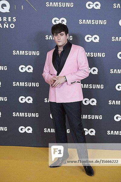 Alejandro Palomo Spain attends GQ Men of the Year Awards 2019 at Palace Hotel on November 21  2019 in Madrid  Spain
