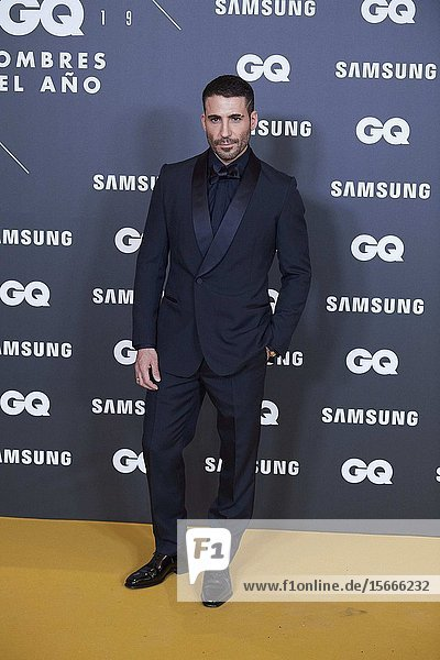 Miguel Angel Silvestre attends GQ Men of the Year Awards 2019 at Palace Hotel on November 21  2019 in Madrid  Spain