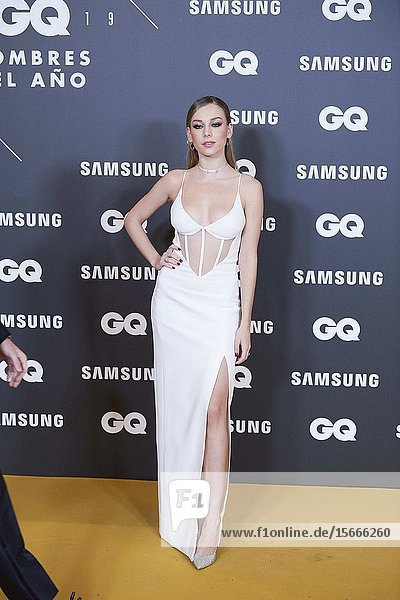 Ester Exposito attends GQ Men of the Year Awards 2019 at Palace Hotel on November 21  2019 in Madrid  Spain