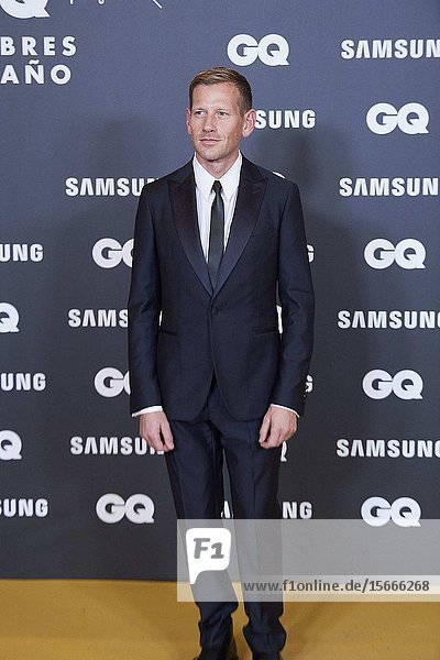 Paul Andrew attends GQ Men of the Year Awards 2019 at Palace Hotel on November 21  2019 in Madrid  Spain