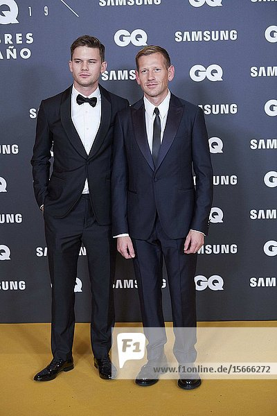 Paul Andrew  Jeremy Irvine attends GQ Men of the Year Awards 2019 at Palace Hotel on November 21  2019 in Madrid  Spain