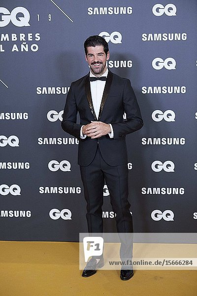 Miguel Angel Munoz attends GQ Men of the Year Awards 2019 at Palace Hotel on November 21  2019 in Madrid  Spain