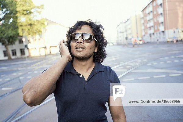 Indian man. Frankfurt  Germany.