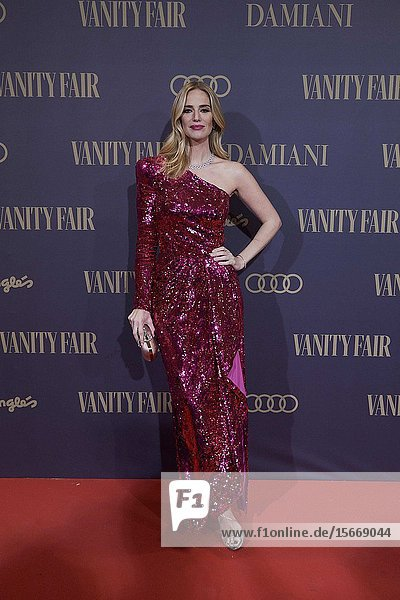 Teresa Bacca attends the Vanity Fair 'Person of the year 2019' at Royal Theatre on November 25  2019 in Madrid  Spain