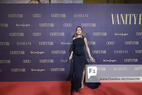 Hiba Abouk attends the Vanity Fair 'Person of the year 2019' at Royal Theatre on November 25  2019 in Madrid  Spain
