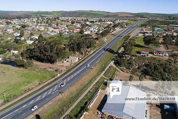 Heidelberg village and road N2 Eksteen St  Heidelberg - Wc  Heidelberg  6665  South Africa.