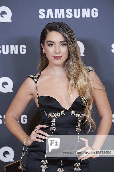 Lola Indigo attends GQ Men of the Year Awards 2019 at Palace Hotel on November 21  2019 in Madrid  Spain