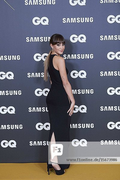 Aitana Ocana Morales attends GQ Men of the Year Awards 2019 at Palace Hotel on November 21  2019 in Madrid  Spain