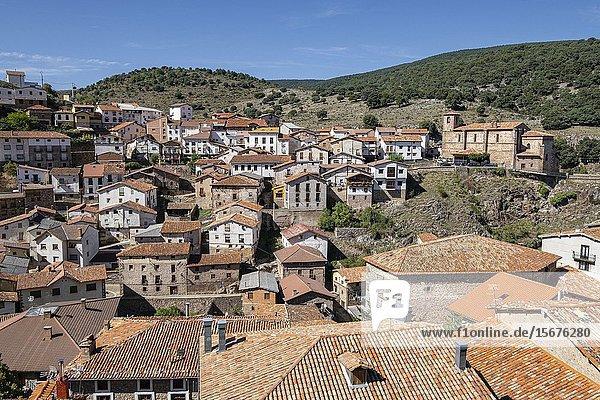 Ortigosa de Cameros  La Rioja  Spain.