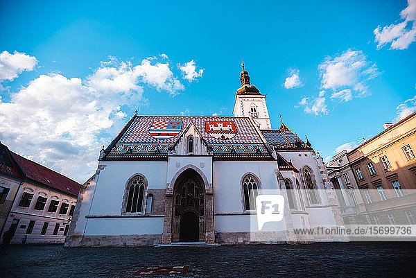 Low angle view of St. Mark's Church
