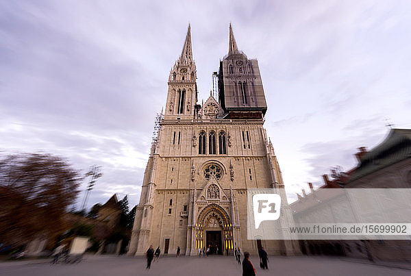Exterior view of Zagreb Cathedral