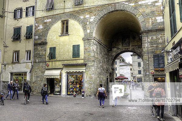 Italy  Tuscany  Lucca  Porta dei Borghi