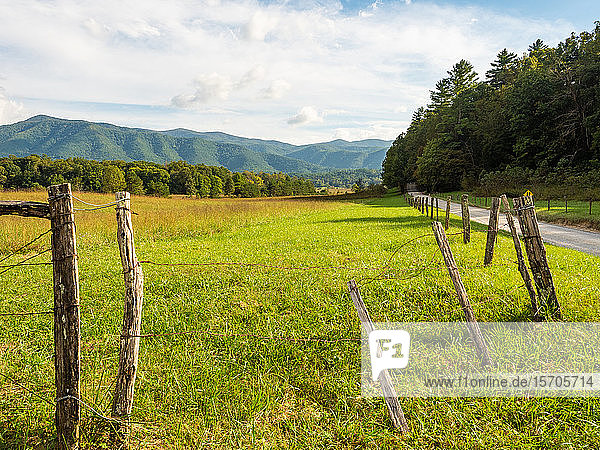 Cades Cove  Great Smoky Mountains National Park  Tennessee  United States of America  North America