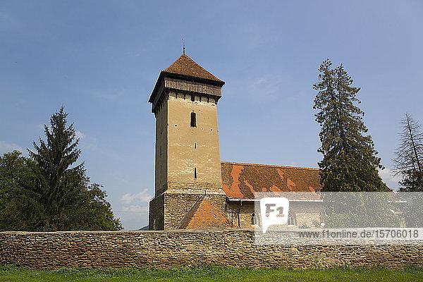 Malancrav Fortified Church  14th century  Malancrav  Sibiu County  Romania  Europe