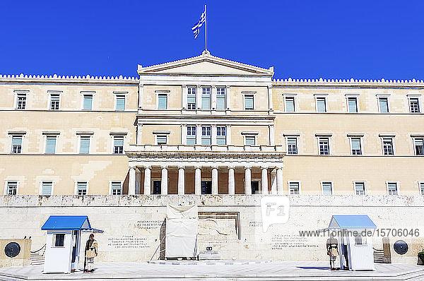 Parliament building  Athens  Greece  Europe