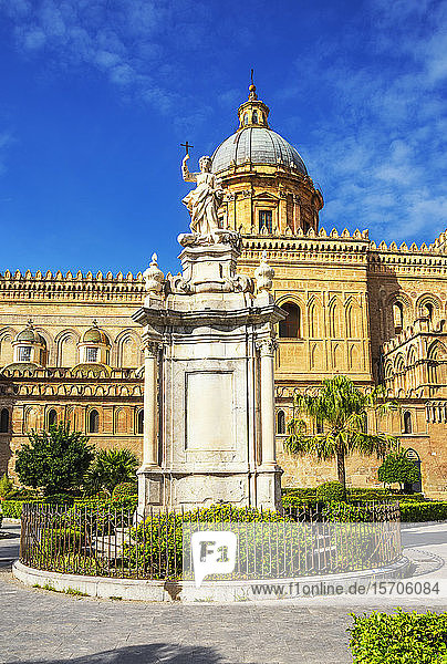 Palermo Cathedral  UNESCO World Heritage Site  Palermo  Sicily  Italy  Europe