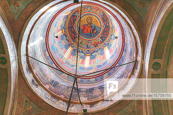 Coltea Orthodox Church  dating from 1701  Old Town  Bucharest  Romania  Europe