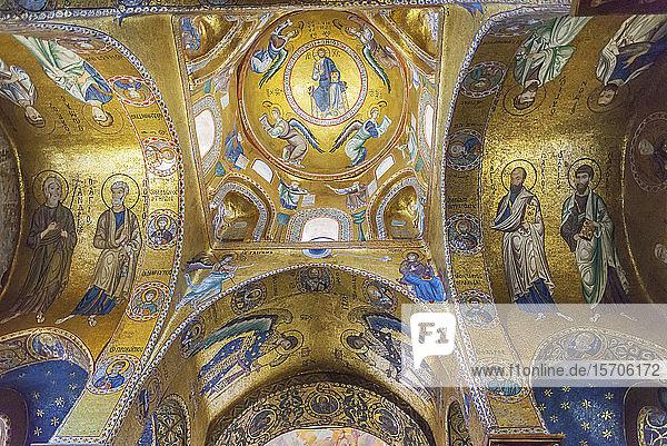 La Martorana Church  Palermo  Sicily  Italy  Europe