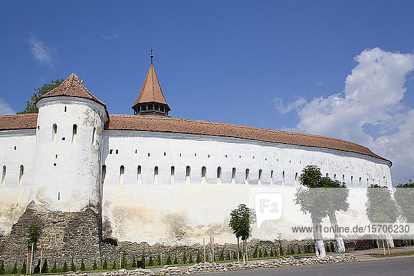 Outer Wall  Prejmer Fortified Church  dated 1212  UNESCO World Heritage Site  Prejmer  Brasov County  Romania  Europe