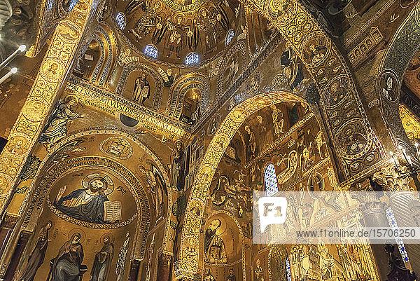 Capella Palatina  Palermo  Sicily  Italy  Europe