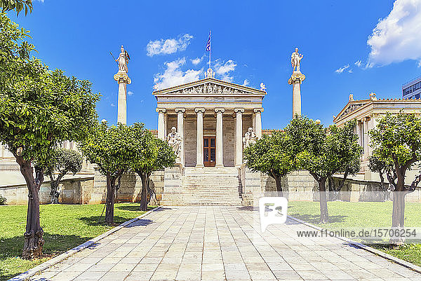 Academy of Athens  Athens  Greece  Europe