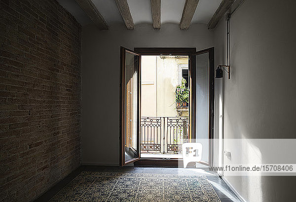 Apartment with tiled floor in Barcelona  Spain