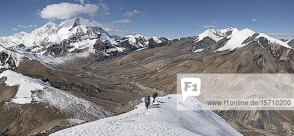 Tukuche Peak vom Dhampus Peak  Dhaulagiri Circuit Trek  Himalaya  Nepal