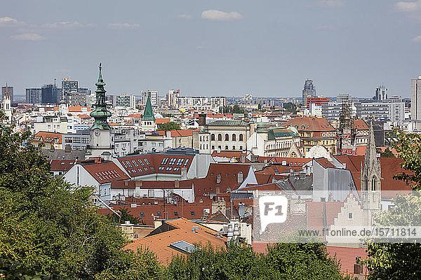 Slovakia  Bratislava  View of city
