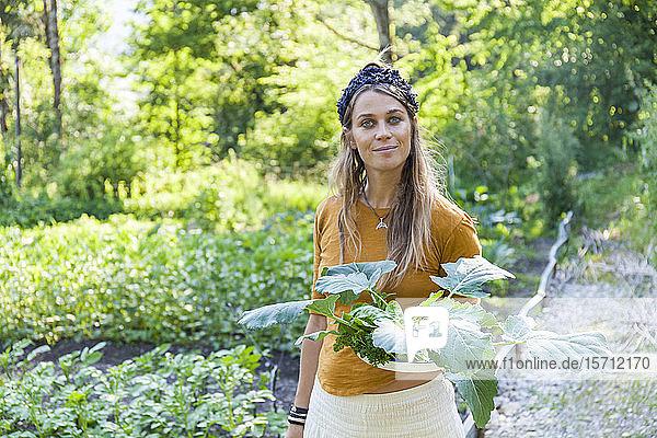 Gartenarbeit von Frauen