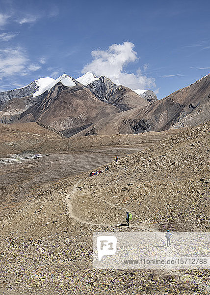 Hidden Valley  Sechi Lek  Dhaulagiri Circuit Trek  Himalaya  Nepal