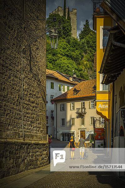 Hallergasse  Meran  South Tyrol  Italy  Europe