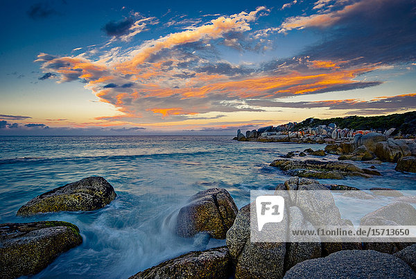 Binalong Bay  Bay Of Fires  Tasmania  Australia