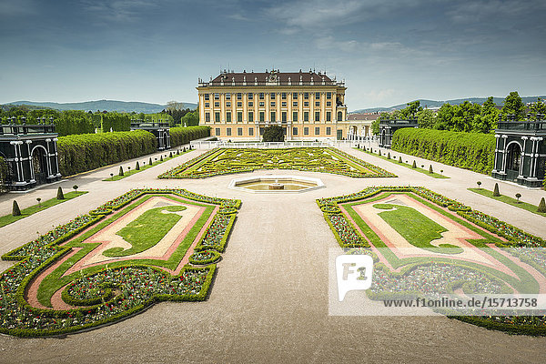 Schoenbrunn Castle  Vienna  Austria  Europe