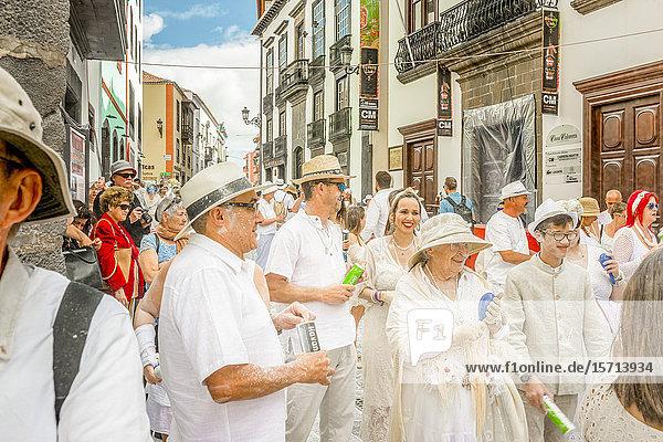 Carnival  Santa Cruz de La Palma  La Palma  Spain  Europe