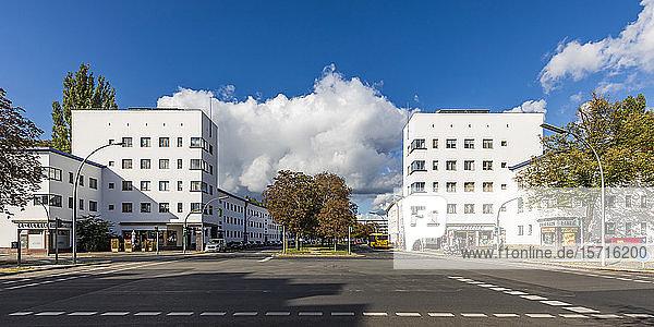 Deutschland  Berlin  Panorama der Weißen Stadt (Berliner Siedlungen der Moderne)