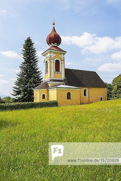 Filialkirche Heilige Margaretha bei Heilige Margaretha  Pfaffing  Hausruckviertel  Oberöserreich  Österreich  Europa